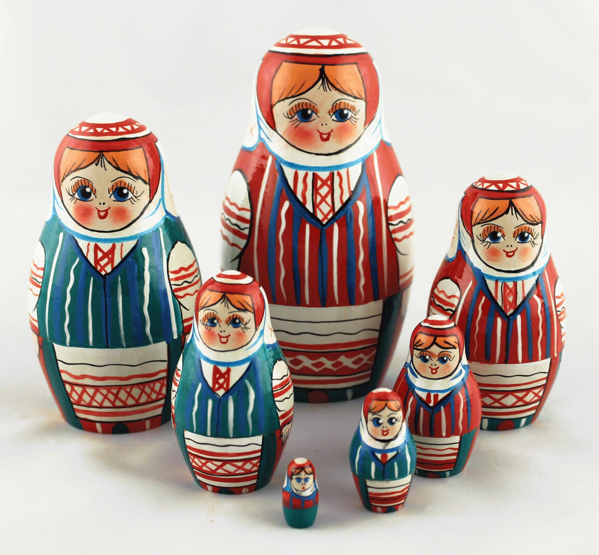 白俄罗斯俄罗斯套娃