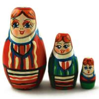 Traditional nesting dolls