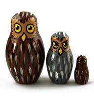 Owls dolls