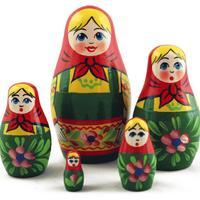 Traditional wood dolls