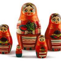 Matryoshka with nuts