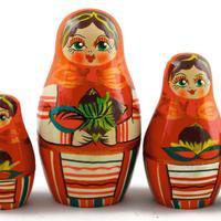 Matryoshka with nuts