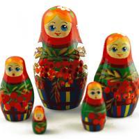 Rowan berry dolls