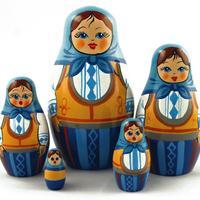 Light blue matryoshka