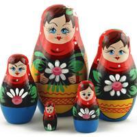 Daisies nesting dolls