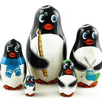 Penguins matryoshka
