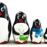 Penguins matryoshka