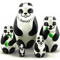 パンダの入れ子人形