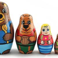 Masha and three bears