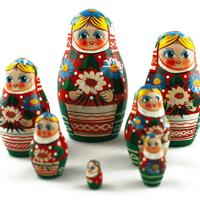 Flowers matryoshka