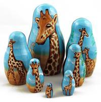 Giraffes matryoshka
