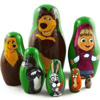 Masha and bear matryoshka