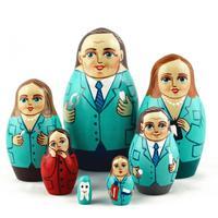 医師マトリョーシカ人形
