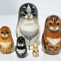 Matryoshka cats