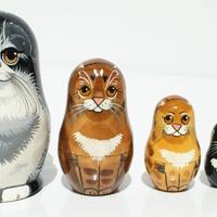 Matryoshka cats