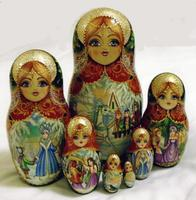 Snow Queen matryoshka