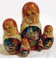 Fairy tale matryoshka