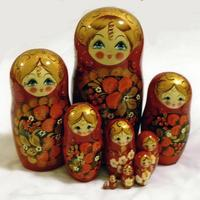 Big red matryoshka