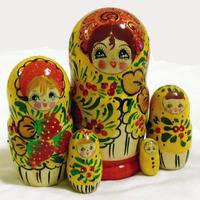Yellow matryoshka