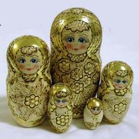 Golden matryoshka