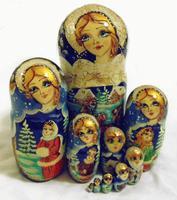 Big matryoshka dolls