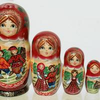 Summer style matryoshka