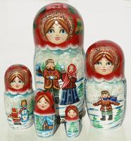 Winter style dolls