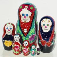 Day of the dead matryoshka