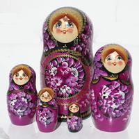 Violet matryoshka