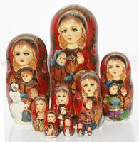 Children matryoshka