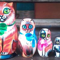 Cats matryoshka