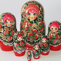 Strawberries Nesting Dolls