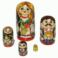 Nesting Doll of Family Style