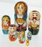 Family nesting dolls