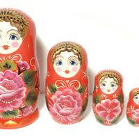 Rose nesting dolls