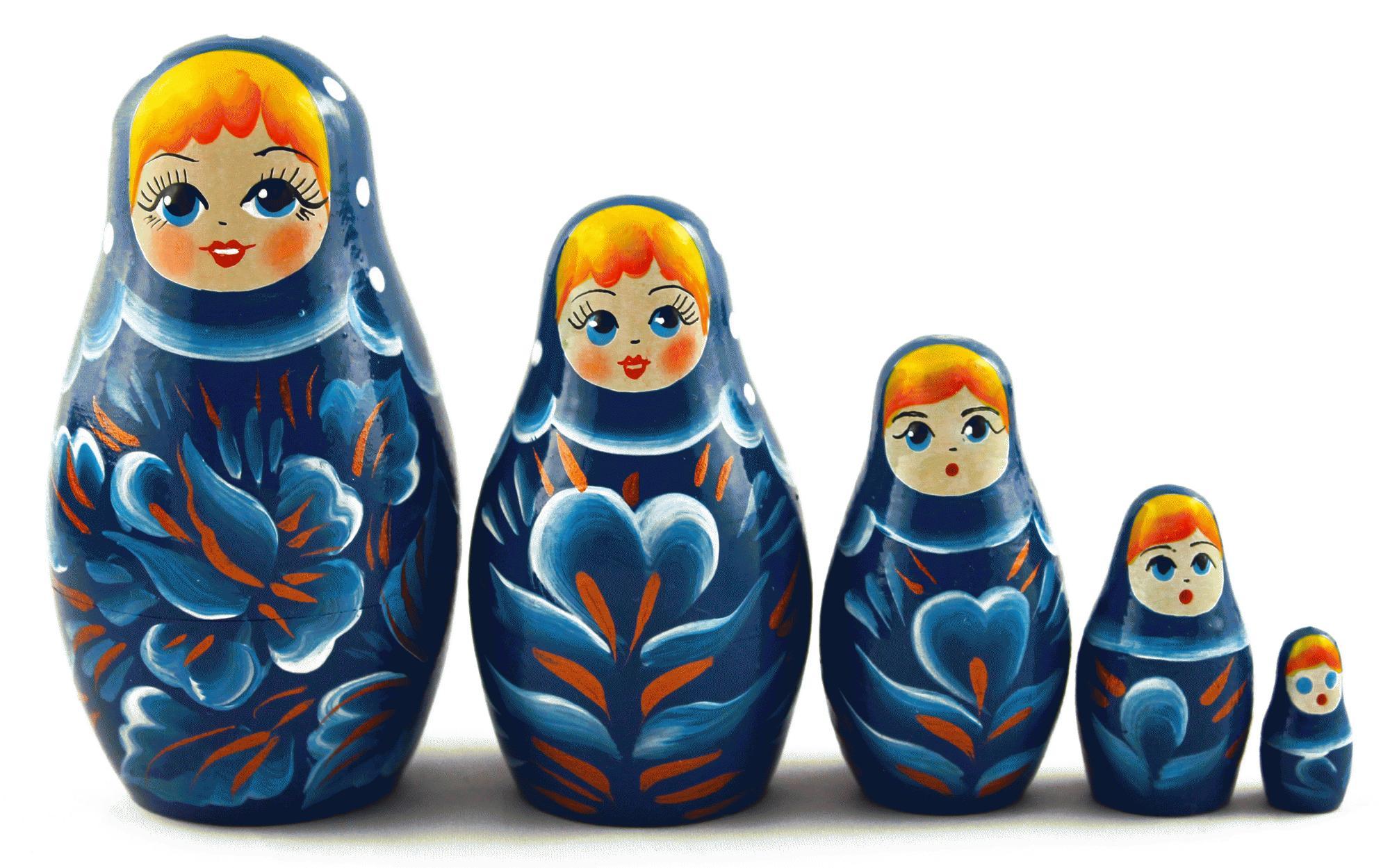 Три матрешки картинки для детей