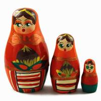 Nuts matryoshka