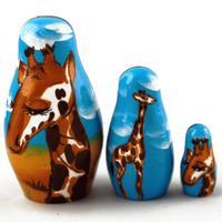 Matrioska di giraffe