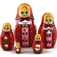 Red nesting doll