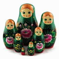 Rose flower matryoshka