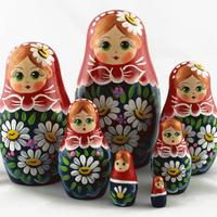 Dřevěné Stacking Doll
