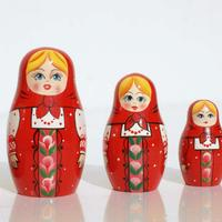 Red Matryoshka Doll