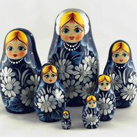 Dark Blue Matryoshka