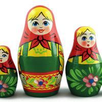 Bambole di legno tradizionali