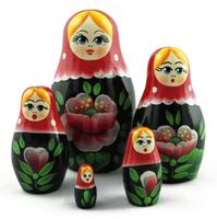 Wooden handmade dolls