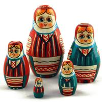 ベラルーシ雛人形