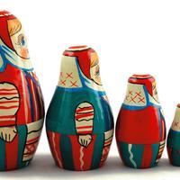 Białoruś styl lalek