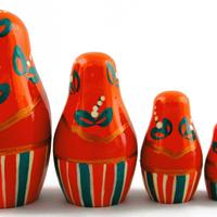Matryoshka con nueces
