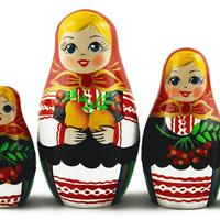 Червено френско грозде кукли