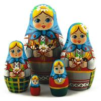 Bouquet matryoshka